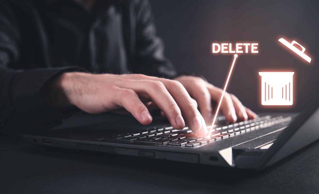 Löschen Keyboard eingabe